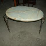 Masuta art deco blat marmura - Mobilier
