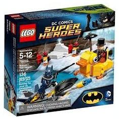 Vand LegoSuperHeroes76010Batman:The Penguin Face off, original, 136piese, 5-12ani