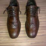 Pantofi Camel Active originali, piele naturala, nr.43 - Pantofi barbati, Culoare: Maro