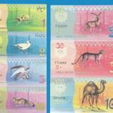 Bir Tawil 1 2 5 10 25 50 100 POUNS 2014 UNC