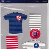 Lot 4 magneti frigider-Federatia de Fotbal din Franta (produs oficial)
