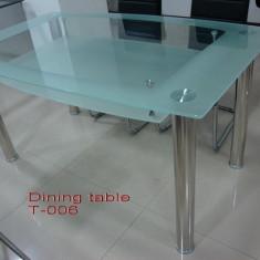 Masa bucatarie - Mese sticla T06