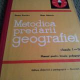 METODICA PREDARII GEOGRAFIEI CLASELE I-IV - Carte Geografie