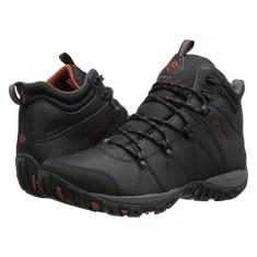 Ghete de iarna, impermeabile pentru barbati Columbia Peakfr Venture Mid (CLM-BM3991-BCK) - Bocanci barbati Columbia, Marime: 45, Culoare: Negru