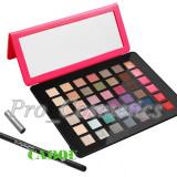 Trusa make up - Trusa Machiaj Profesionala 42 culori MAC #01 cu Ruj si Gloss + CADOU Creion MAC