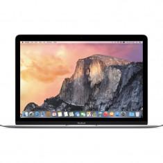 Laptop Apple MacBook 12 inch Retina Intel Broadwell Core M 1.1 GHz 8GB DDR3 256GB SSD Mac OS X Yosemite RO Keyboard Silver