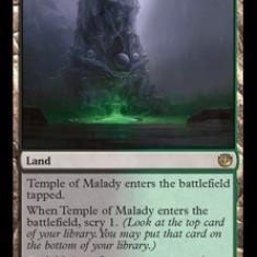 MTG Temple of Malady - Cartonas de colectie