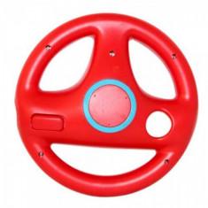 Volan Mario Kart pentru Nintendo Wii rosu WWVB262RE