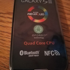 Telefon mobil Samsung Galaxy S3, Alb, 16GB, Neblocat, Quad core, 1 GB - Samsung Galaxy S3 i9300 ALBASTRU / NOU / LIVRARE CU VERIFICARE