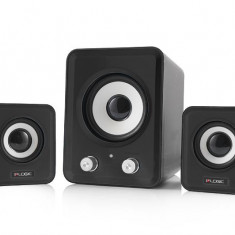 Boxe Logic LS-20 negru [ 2.1 stereo ] - Boxe PC