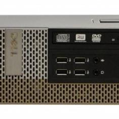 Sisteme desktop fara monitor - Calculator Dell Optiplex 990 Desktop SFF, Intel Core i5 2400 3.1 GHz, 4 GB DDR3, 250 GB HDD SATA, DVDRW, Windows 7 Home Premium, 3 ANI GARANTIE