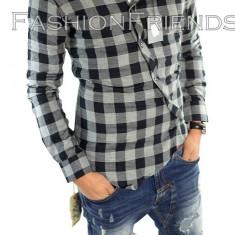 Camasa tip Zara bumbac - camasa carouri - camasa barbati - cod produs: 5353