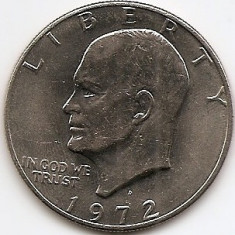 Statele Unite (SUA) 1 Dolar 1972 -