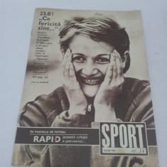 REVISTA SPORT NR. 14 1972 - Revista barbati