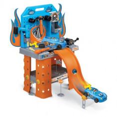 Masinuta de jucarie Faro - Hot Wheels Statie Service cu Masina 73 cm