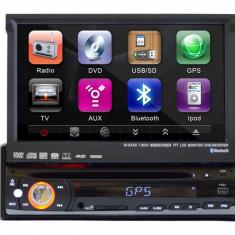 Resigilat - Aparat multifunctional multimedia utilizat in autovehicule cu monitor de 7 inch, model PNI 8007