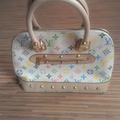 Geanta Louis Vuitton, made in France. - Geanta Dama Louis Vuitton, Culoare: Multicolor, Marime: Medie, Geanta umar manere scurte, Asemanator piele