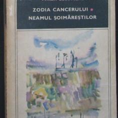 Roman - Carti ( 969 ) - ZODIA CANCERULUI, NEAMUL SOIMARESTILOR - M. Sadoveanu - ( A 3 )