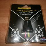 Placa de suunet USB Virtual 7.1 3D Audio Sound