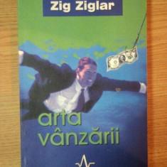 ARTA VANZARII de ZIG ZIGLAR, 2002 - Carte de vanzari