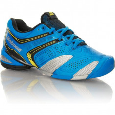 ADIDASI BABOLAT TENIS - Adidasi copii, Marime: 35.5, Culoare: Albastru