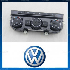 Panou Climatronic VW Passat B6, B7, CC, Eos, Jetta, Golf VI 6, Scirocco, Tiguan, Volkswagen