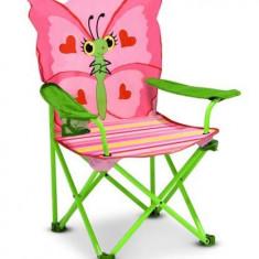 Masuta/scaun copii - Scaun Pliabil Pentru Copii Bella Butterfly Melissa And Doug