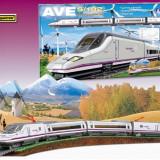 Trenulet Electric Calatori Renfe Ave S-102 - Trenulet de jucarie Pequetren