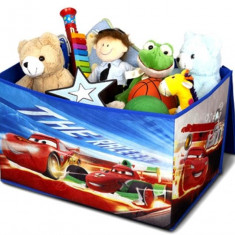 Cutie Pentru Depozitare Jucarii Disney Cars - Set mobila copii