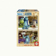Puzzle Educa Monsters University 2X25 Piese