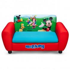 Canapea Si Cutie Depozitare Jucarii Disney Mickey Mouse - Set mobila copii