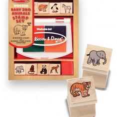 Set De Stampile Pui De Animale Salbatice Melissa And Doug - Jocuri arta si creatie Melissa & Doug