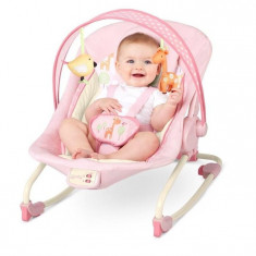Leagan - Bright Starts-60114-Balansoar 2 In 1 Girafaloo Rocker