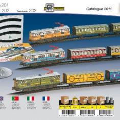 Trenulet Electric - -Calatori (Colorat) - Trenulet de jucarie Pequetren