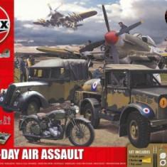 Kit Constructie Si Pictura Scena De Lupta Asalt Aniversare 100 Ani Wwii D-Day - Jocuri Seturi constructie Airfix