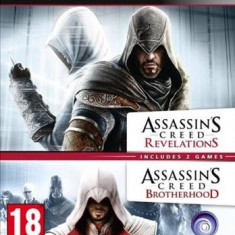 Jocuri PS3 - Assassins Creed Revelations And Brotherhood Double Pack Ps3