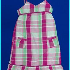 Haine Copii 10 - 12 ani, Rochii, Fete - Rochie / rochita vara, panza bumbac, bretele reglabile _ fete | 8 - 10 ani | 140