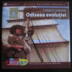 Charles Darwin; Odiseea Evolutiei - DVD - Film documentare Altele, Romana