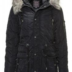 Geaca de Iarna Barbati Dreimaster Neagra 55132730 - Geaca barbati, Marime: XL, XXL, Culoare: Din imagine