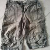 Haine Copii 10 - 12 ani, Pantaloni, Baieti - Pantaloni scurti de vara pentru baieti, marimea 9-10 ani, cu carouri