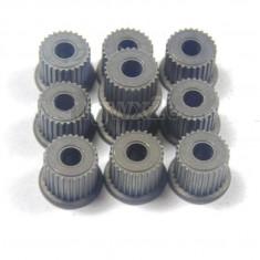 Set de 10 roti dintate din metal 27 dinti, pt ax de 3.175mm pt CNC, ROBOTI - Robot Bucatarie