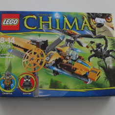 LEGO Legends of Chima - Vand Lego Chima 70129 Lavertus' Twin Blade, nou, original, 183 piese, 8-14 ani