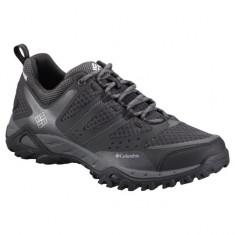 Pantofi din piele pentru barbati Peakfr Xcrsn Leather Outdry Mud (CLM-BM3929-BCK) - Pantofi barbati Columbia, Marime: 42, 43, 45, Culoare: Negru