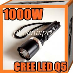 LANTERNA CREE LED Q5 1000W