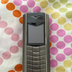 Telefon mobil Vertu, Argintiu, Neblocat, Nu se aplica, Clasic, Fara camera - Vertu Ascent