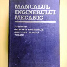 Carti Mecanica - MANUALUL INGINERULUI MECANIC coordonator Ghe Buzdugan volumul II