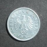 GERMANIA NAZISTA 50 FENINGI 1939 A, Europa, An: 1939
