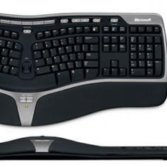 Kit wireless Microsoft 7000 tastatura si mouse, Ergonomica, Fara fir, USB