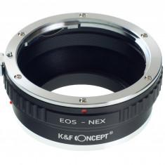 Adaptor aparat foto - Kent Faith EOS-NEX adaptor montura Canon EOS la Sony E-Mount (NEX)