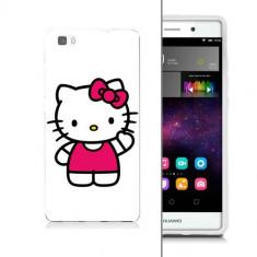 Husa Telefon - Husa Huawei Ascend P8 Lite Silicon Gel Tpu Model Hello Kitty